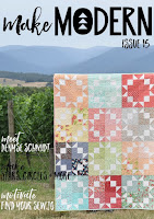 Make Modern Digital Quilting Magazine Issue 15