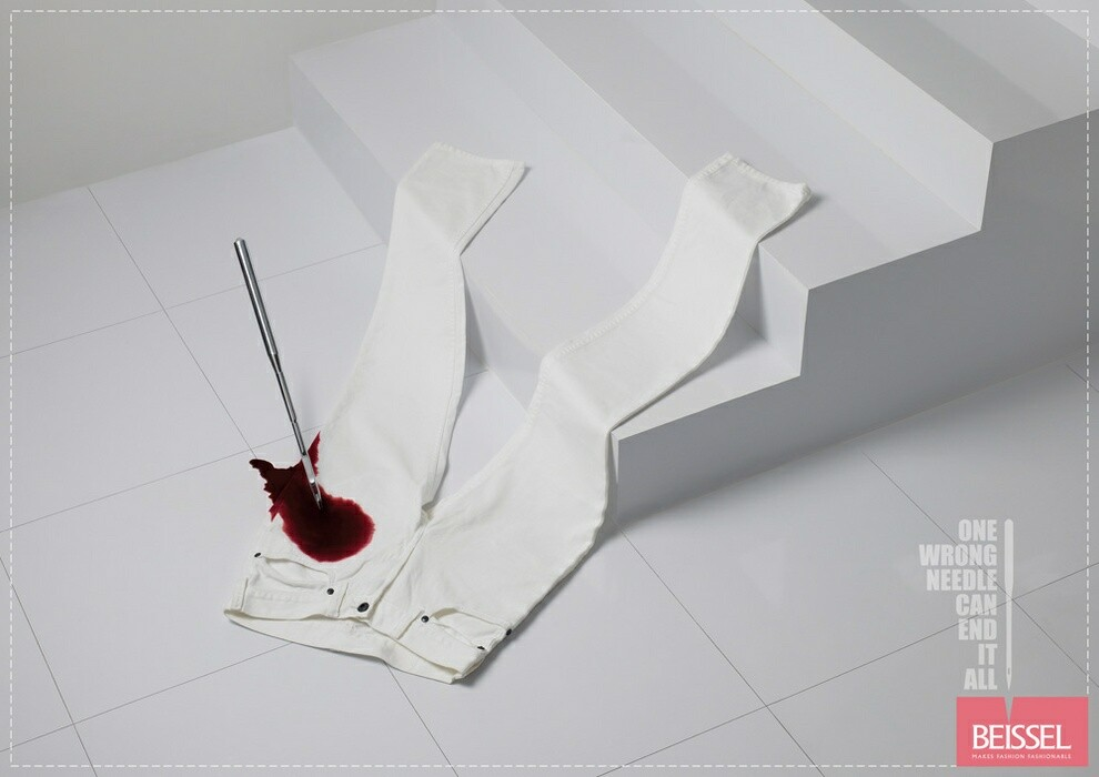 creative advertisement photography