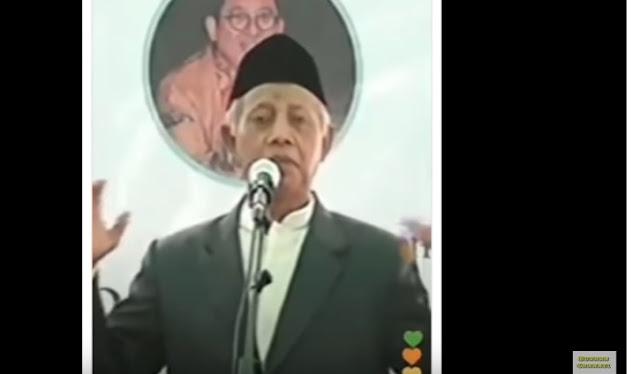 Pendukung Jokowi Akan Laporkan KH Dawam Saleh ke Polisi, Ini Sebabnya..