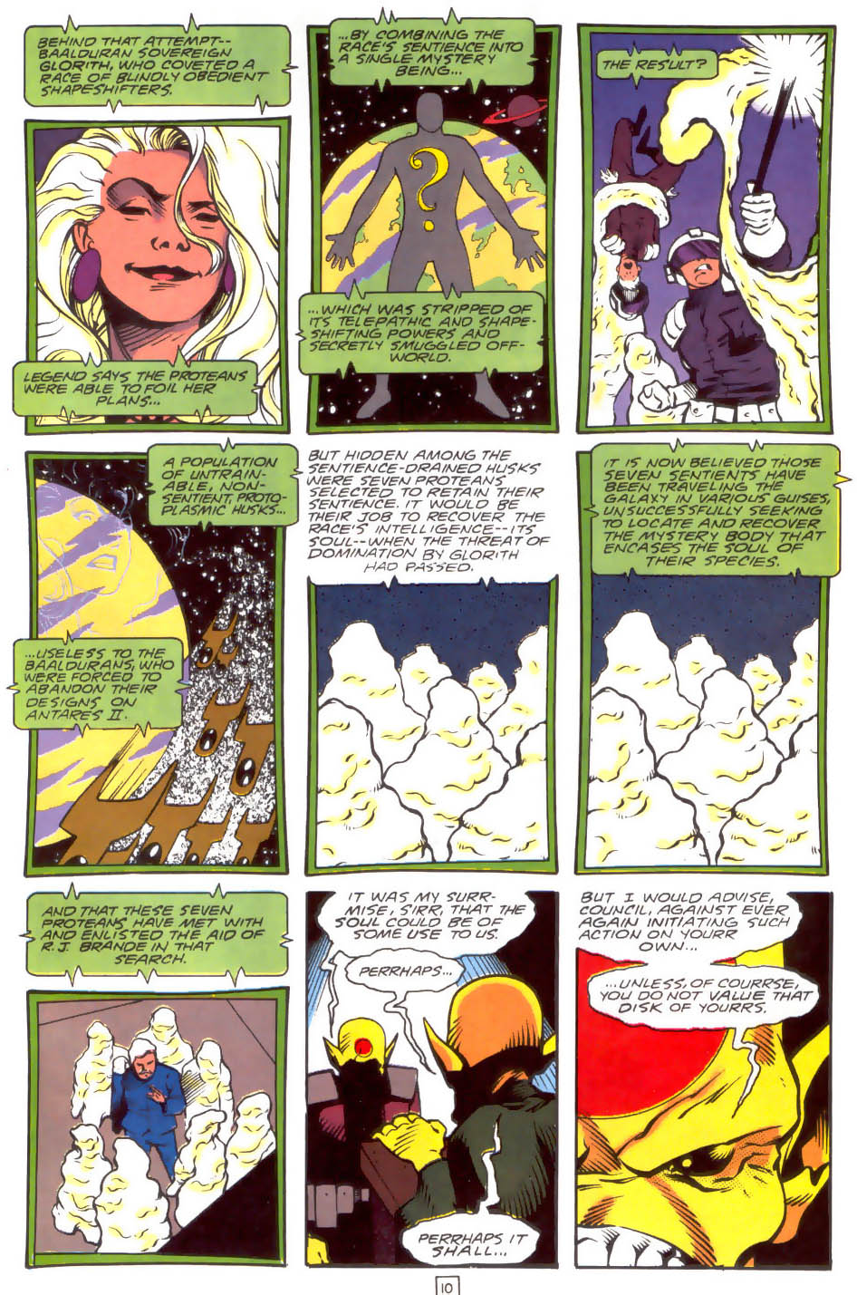 Legion of Super-Heroes (1989) 33 Page 10