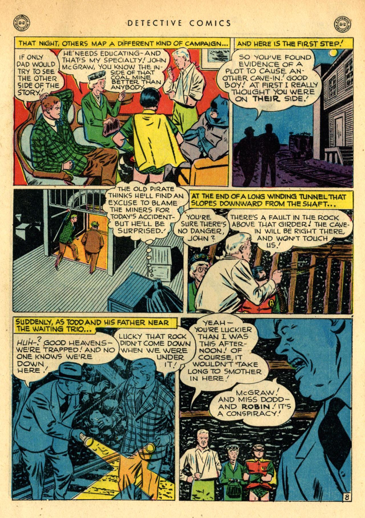 Read online Detective Comics (1937) comic -  Issue #111 - 10