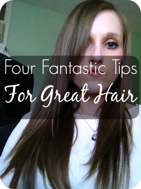 four tips for great hair