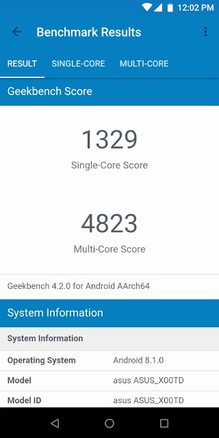 benchmark zenfone max pro m1