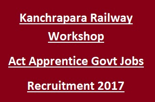 Kanchrapara Railway Workshop Apprentice Jobs Recruitment