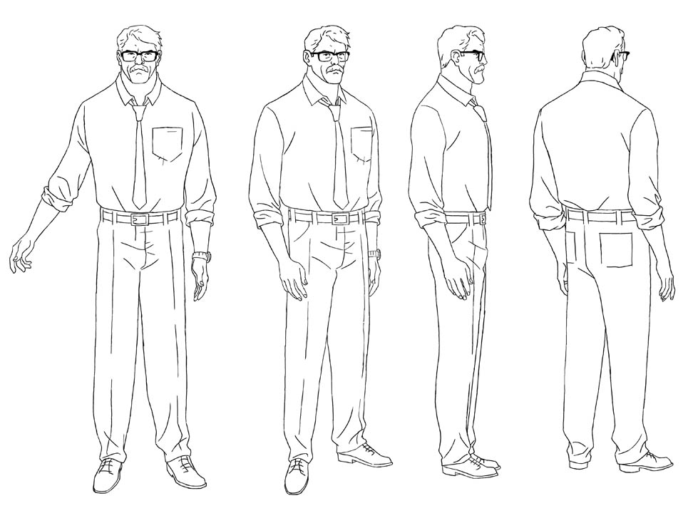 Gagoism Imoko Character Dev sketches and model sheet ANİME - professional character reference letter template