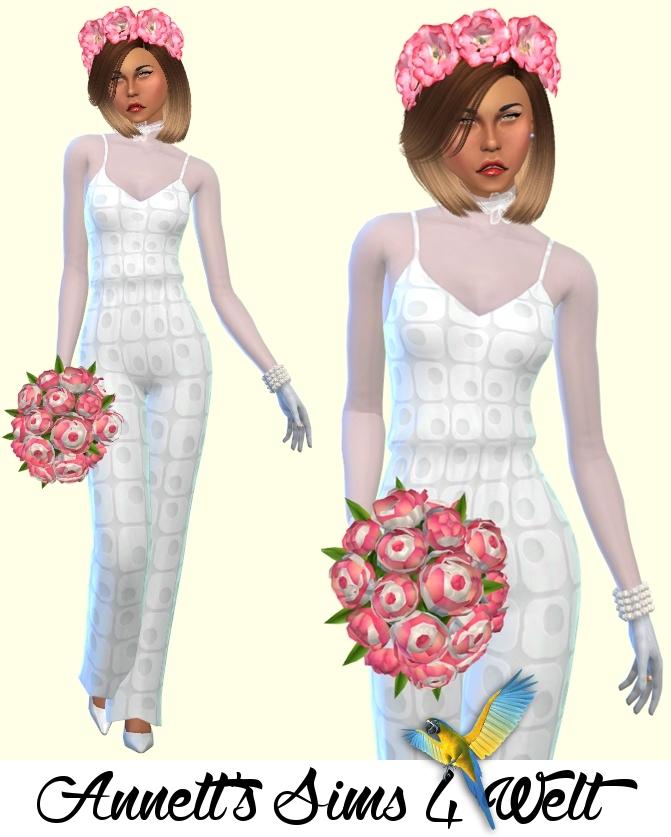 Annett's Sims 4 Welt: Wedding Jumpsuit