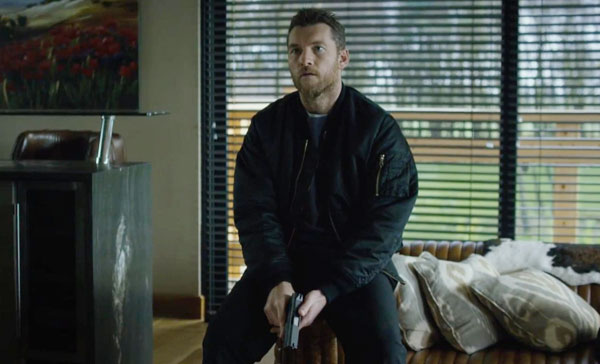 Sam Worthington as Lucas in THE HUNTER'S PRAYER (2017)