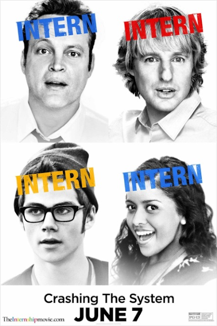 Vince Vaughn Owen Wilson The Internship movie review