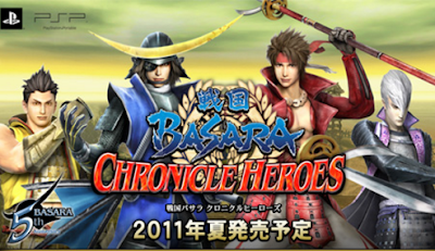 Download Sengoku Basara Chronicle Heroes ISO/CSO PSP PPSSPP Ukuran Kecil