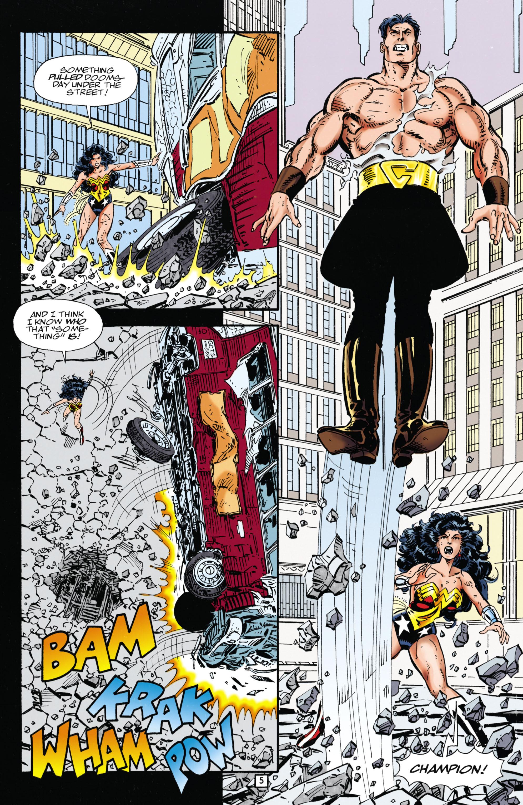 Read online Wonder Woman (1987) comic -  Issue #112 - 5