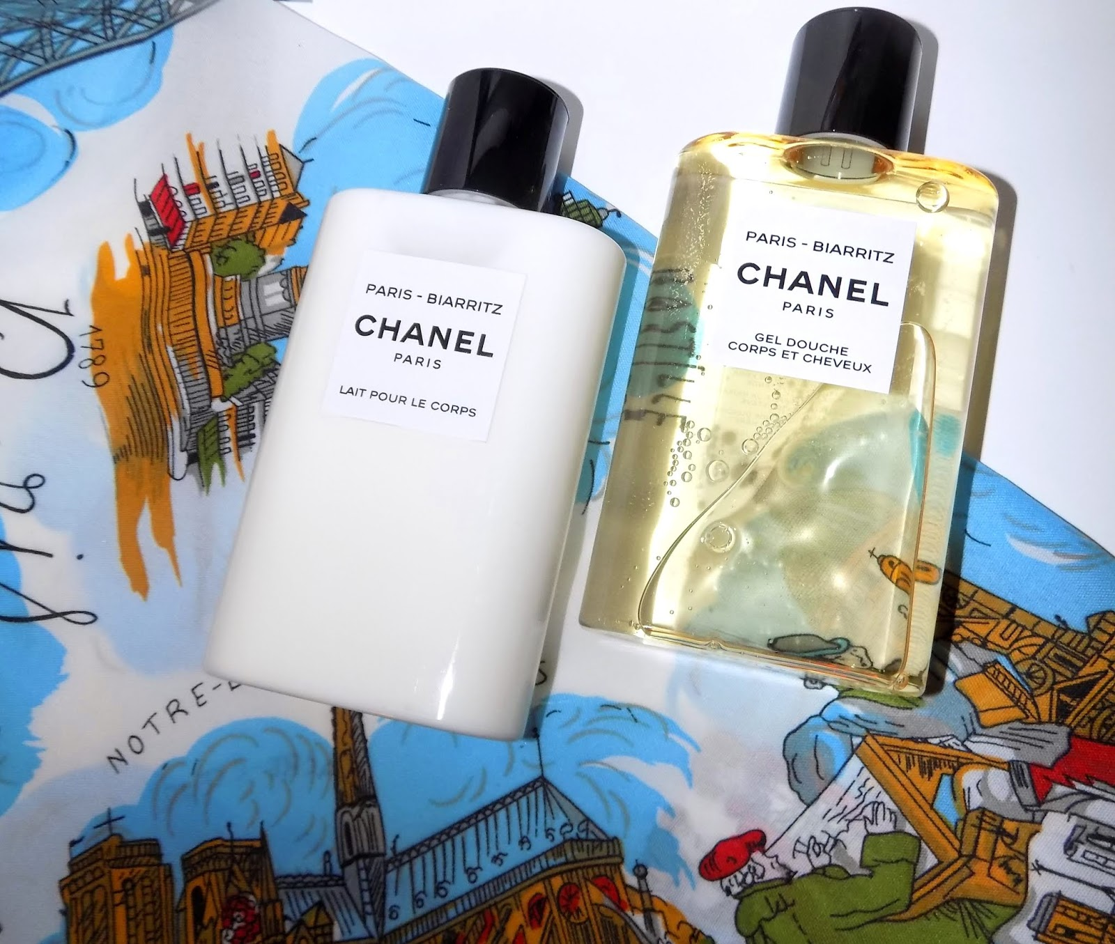 735e7421b5 The Beauty Alchemist: Chanel Biarritz Body Lotion & Shower Gel