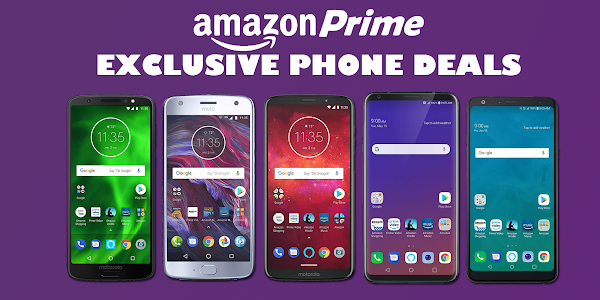 Get up to $350 off Amazon Prime exclusive smartphones