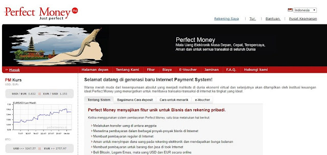 Perfect Money Indonesia