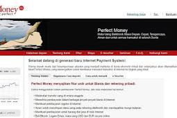 Tutorial Cara Membuat Akun Perfect Money Mudah dan Cepat