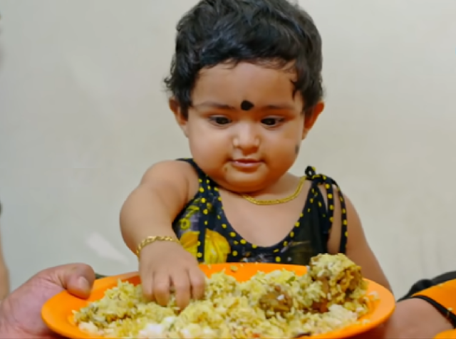 Baby Ameya -Child actress | Parukutty Uppum  Mulakum serial on Flowers TV