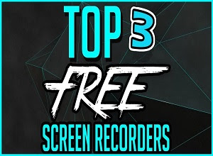 top 3 Free Screen Recording Software for Windows