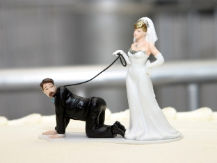 Funny Marriage Points System Wedding Cake