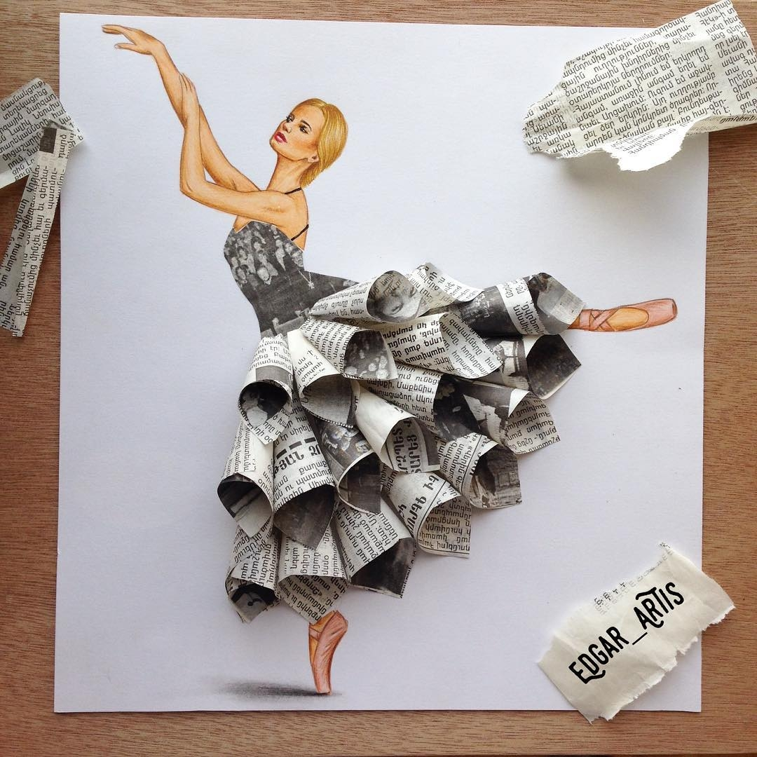 12-Newspaper-Edgar-Artis-Drawings-that-use-Flowers-Food-and-Objects-www-designstack-co
