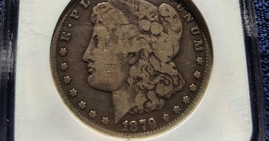 Rick's Pedigree Coins – 1879-CC Fitzgerald Collection VG10 Morgan Silver Dollar