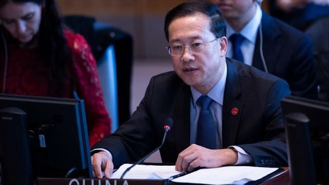 China pide ante la ONU levantar sanciones de EEUU y UE a Venezuela