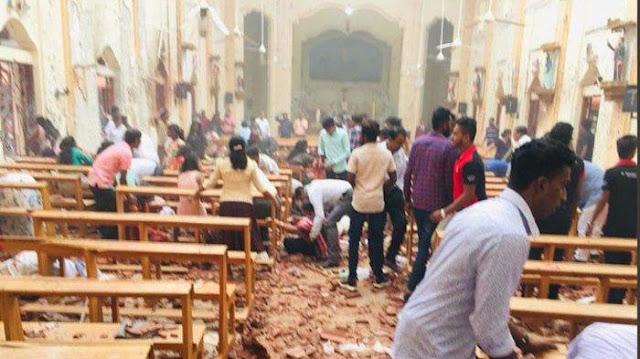 8 Bom Meledak di Srilanka Tepat Hari Paskah, 290 Orang Jadi Korban Meninggal