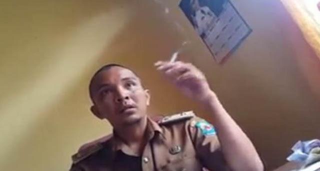 Viral, Lurah Arogan Terhadap Warganya Terekam Video