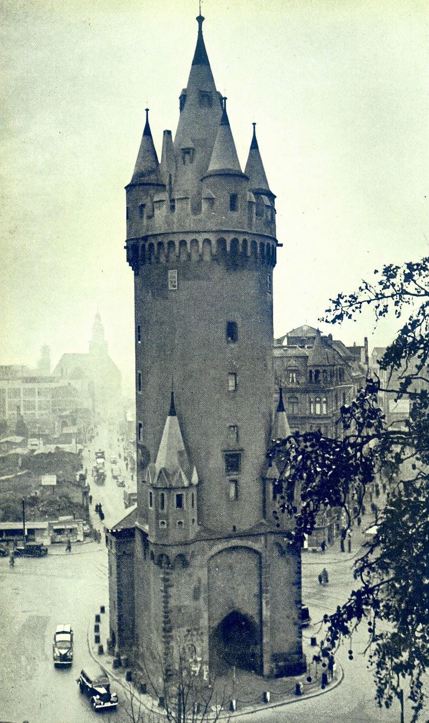 Eschenheim Tower Germany Old View