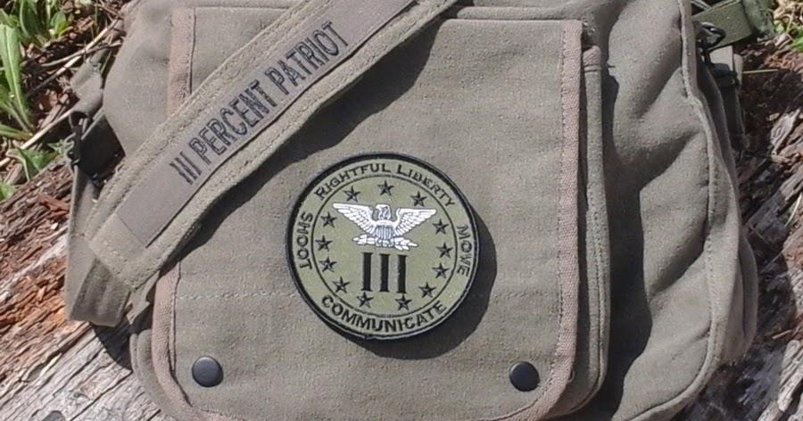 iii percent patriots rightful liberty war eagle iii gear patch bags. Black Bedroom Furniture Sets. Home Design Ideas