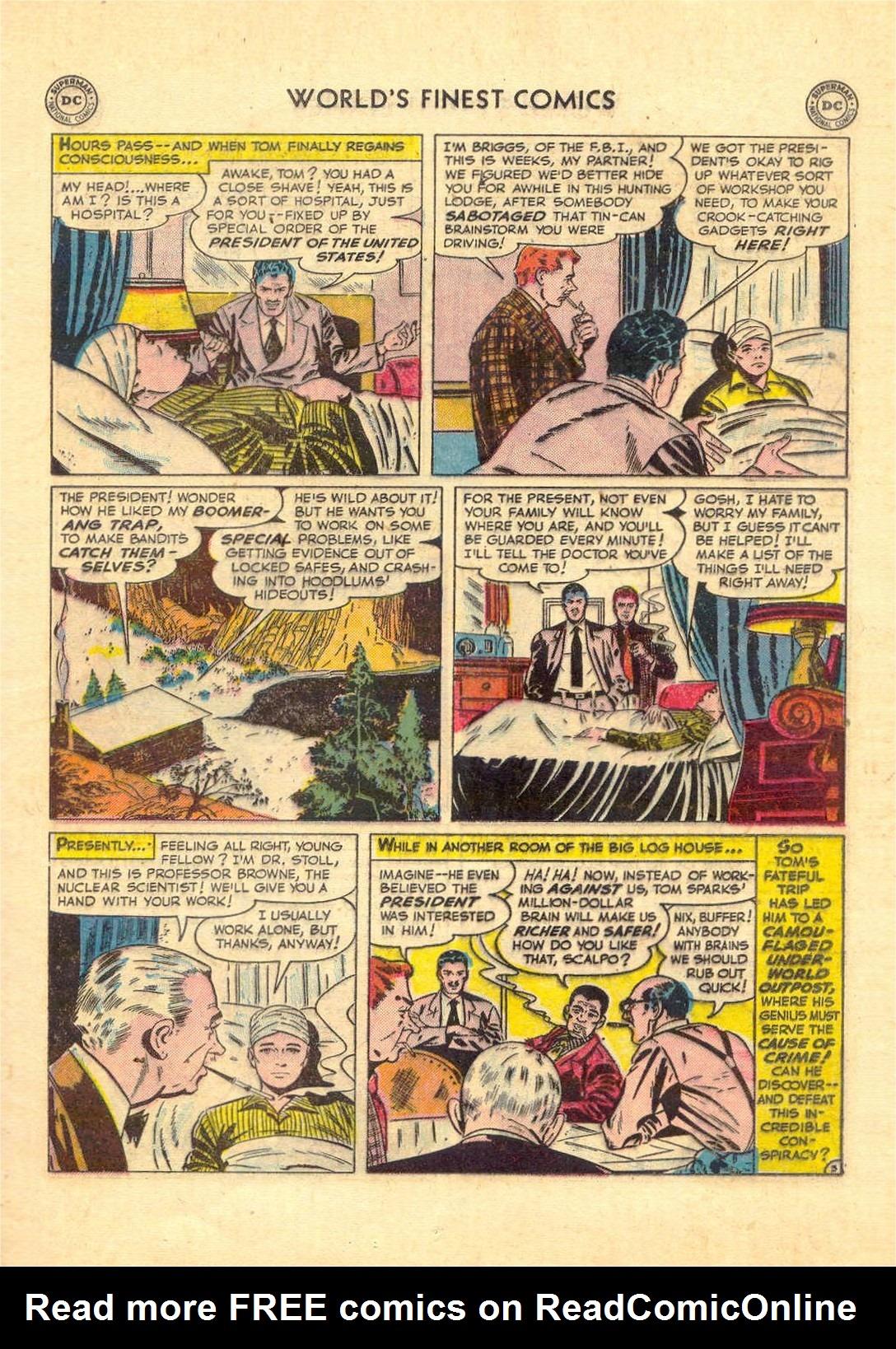 Read online World's Finest Comics comic -  Issue #52 - 55