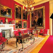 Interior, Blenheim Palace Woodstock Oxfordshire