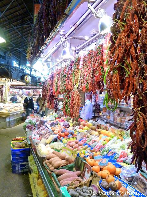 marché mercat boqueria