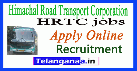 Himachal Road Transport Corporation HRTC Recruitment Notification