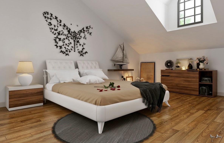 Hogares frescos dise o de interiores con acentos for Ideas decoracion fotos pared