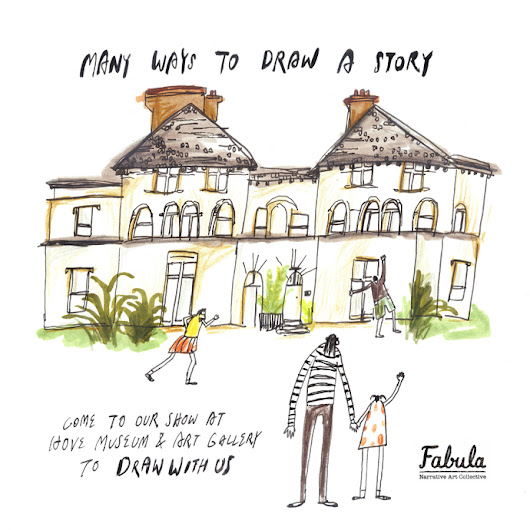 Be part of the story - come and draw at Hove Museum!