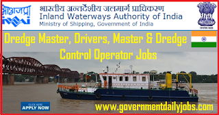 IWAI Recruitment 2018 for 46 jobs in Inland Waterways Authority of India
