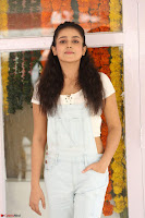 Mishti Chakraborty in lovely Jumpsuit and crop top at Wings Movie Makers Production No 1 movie launch ~  Exclusive 38.JPG