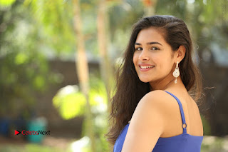 Actress Prasanna Stills in Blue Short Dress at Inkenti Nuvve Cheppu Movie Platinum Disc Function  0231.JPG