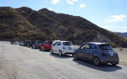 SoCal Abarth Club Drive
