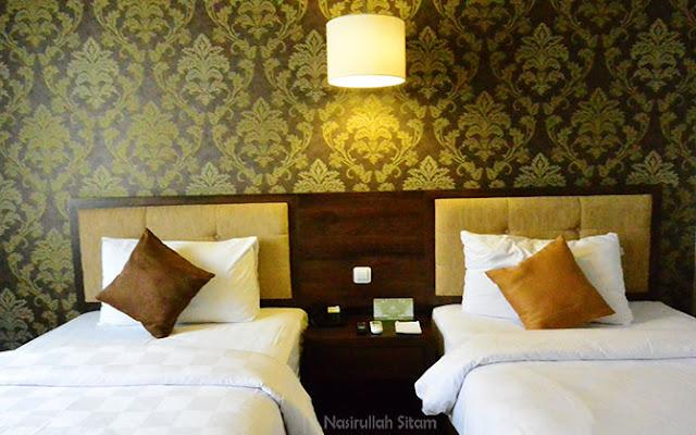 Kamar di Hotel Safira Magelang