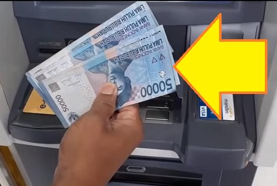 Langkah Ketiga Tarik Uang Lewat ATM Mandiri 2