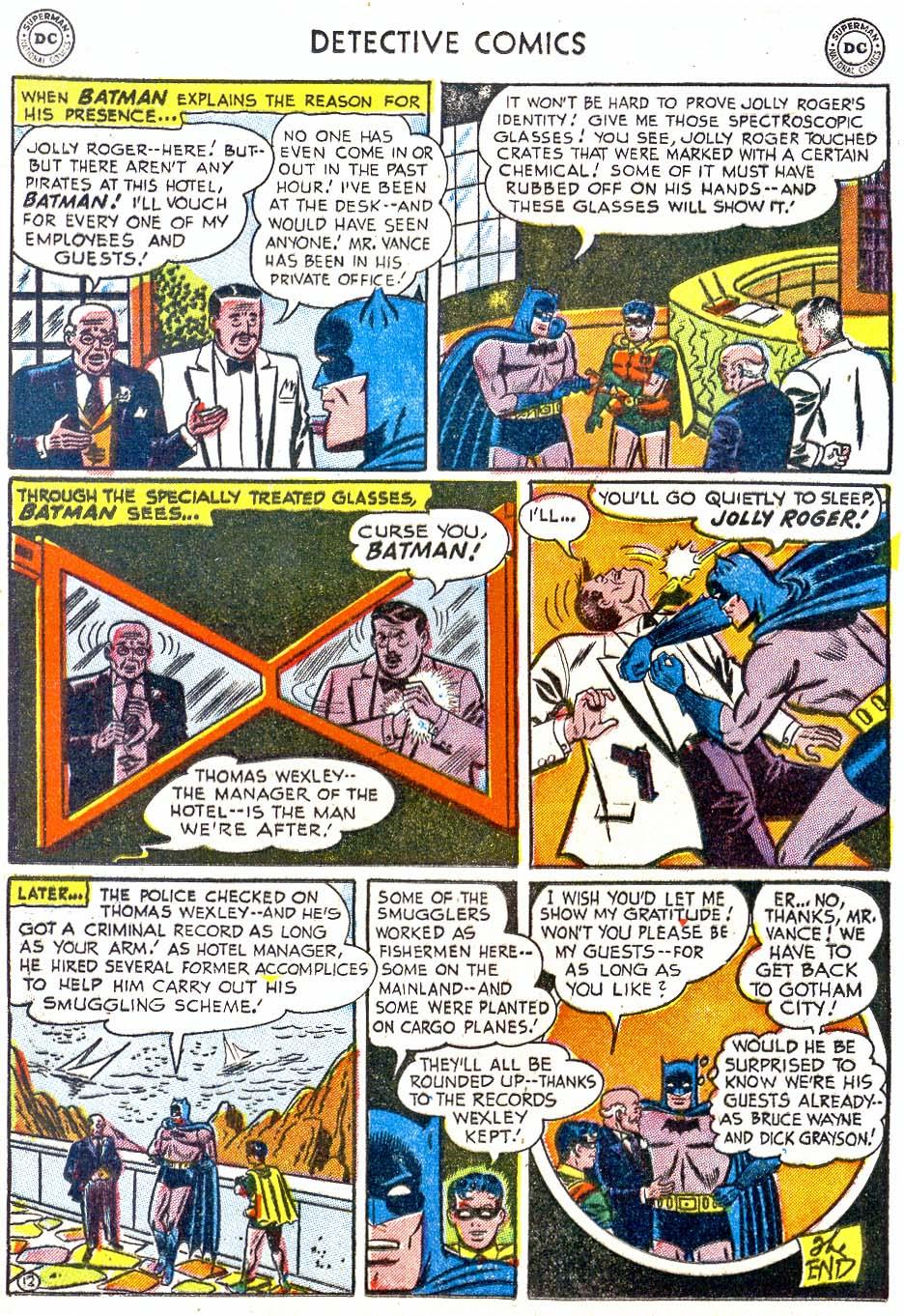 Detective Comics (1937) 202 Page 13