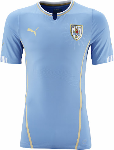 aecb438e77a Uruguay 2014 World Cup Home and Away Kits Released - Footy Headlines