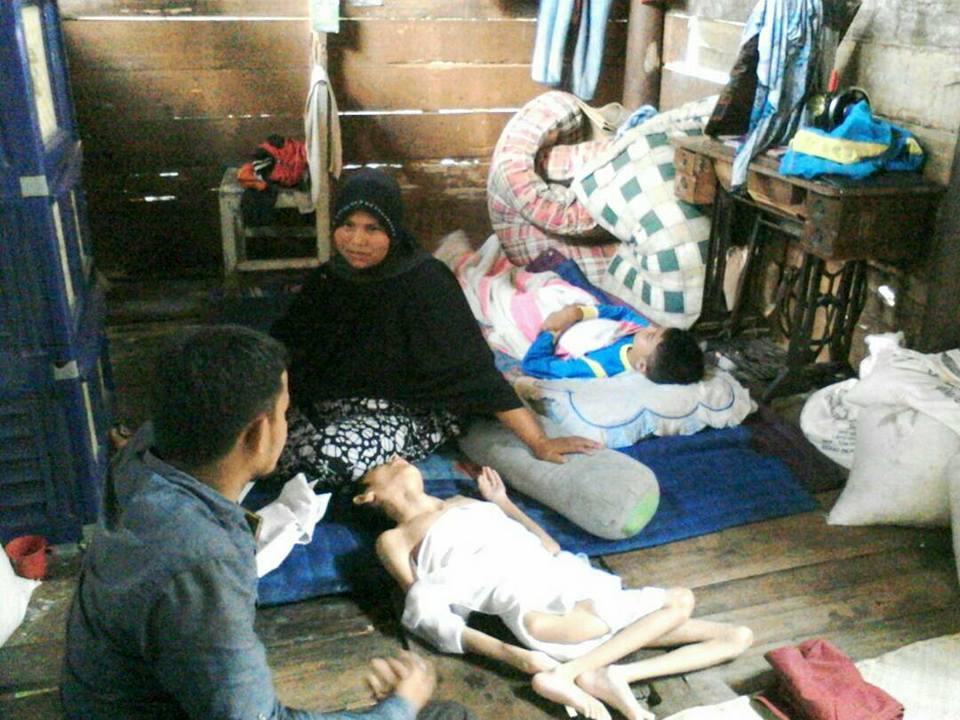 Ibu Munirudin Sangat Berharap Ada Bantuan Rumah Layak Huni