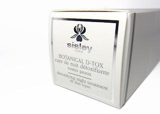 [Pflege] Sisley Botanical D-Tox