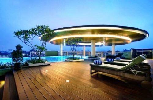 Hotel modern dekat wisata guci tegal