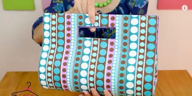 Mi link blog como hacer una cartera para dama sin coser - Hacer bolsas de papel en casa ...