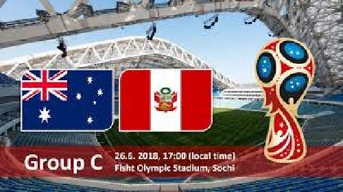 فوز معنوي للبيرو على استراليا 2-0 في ختام مبارياتهما بكاس العالم