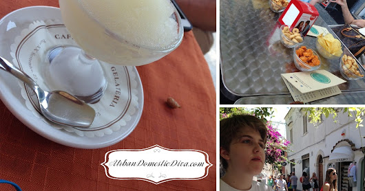 The Urban Domestic Diva: The Italy Trip Series: Art of the Nosh and Italian Ice