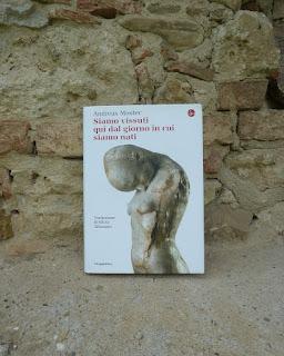 Siamo vissuti qui dal giorno in cui siamo nati - Andreas Moster {Recensione no-spoiler} felice con un libro