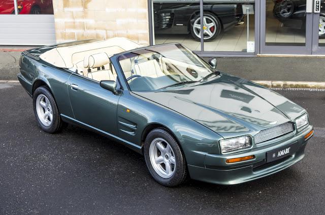 Aston Martin Virage Convertible Volante For Sale At Amari Super - Aston martin convertible for sale